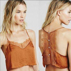 Intimately Free People Eclipse Brami lace crop XS